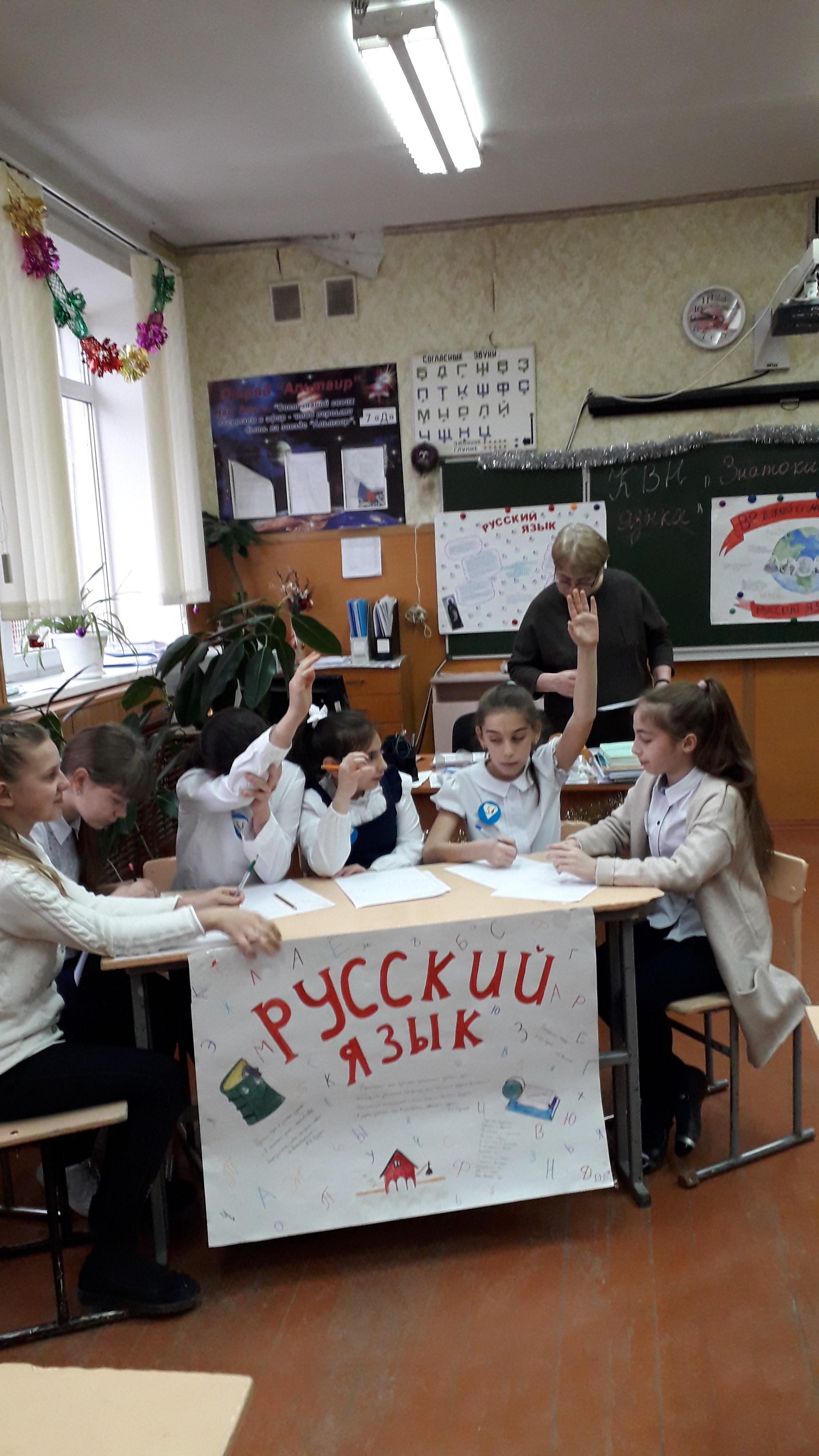 Неделя русского языка и литературы в гимназии