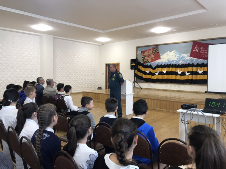 Открытый урок по технике безопасности в МКОУ «Гимназия №17»