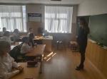 """10 сентября 2021 года в МКОУ «Гимназия №17» г. Черкеска в 7 классе  прошла беседа на тему """"Да! здоровому образу жизни», посвященная Всемирному Дню трезвости."""